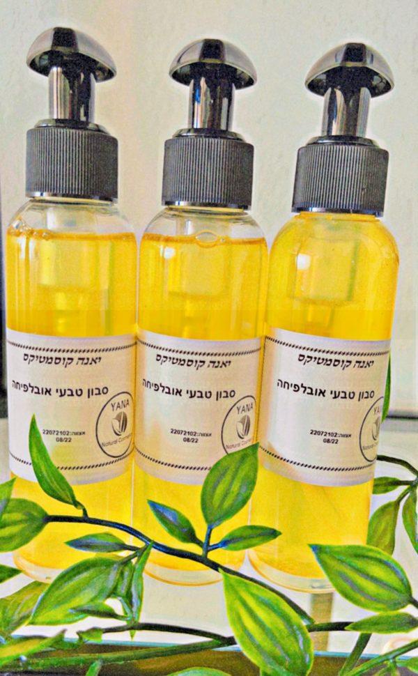 Нежнейшее жидкое мыло для лица и тела «Облепиха»